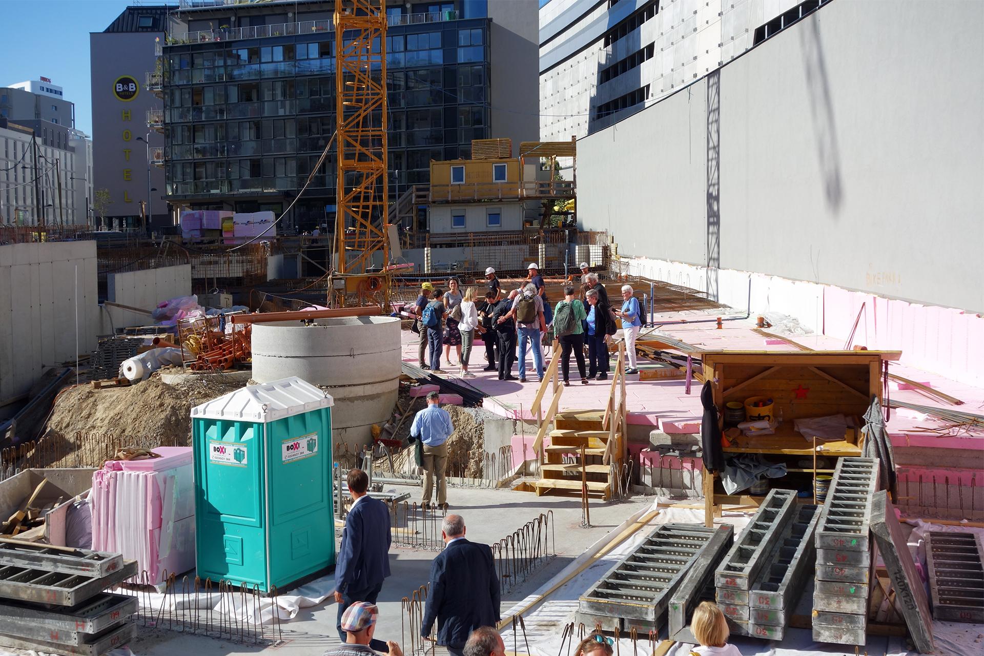 Grundsteinlegung WoGEN Quartiershaus